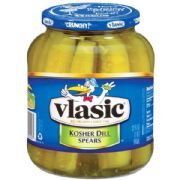 Vlasic Kosher Dill Spears, Large (946ml, 32floz)